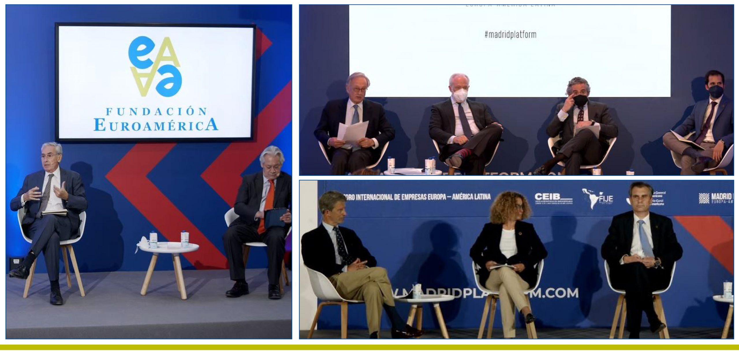 Participación de la Fundación Euroamérica en Madrid Platform