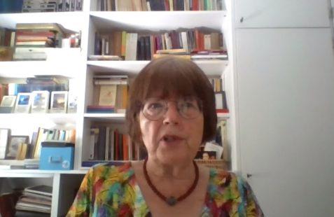 Michi Strausfeld, invitada de honor en el encuentro online