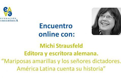 Michi Strausfeld, invitación al encuentro online