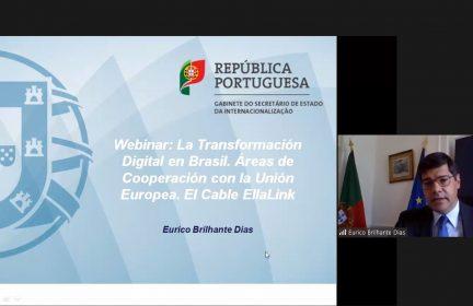 Presentación de Eurico Brilhante Dias