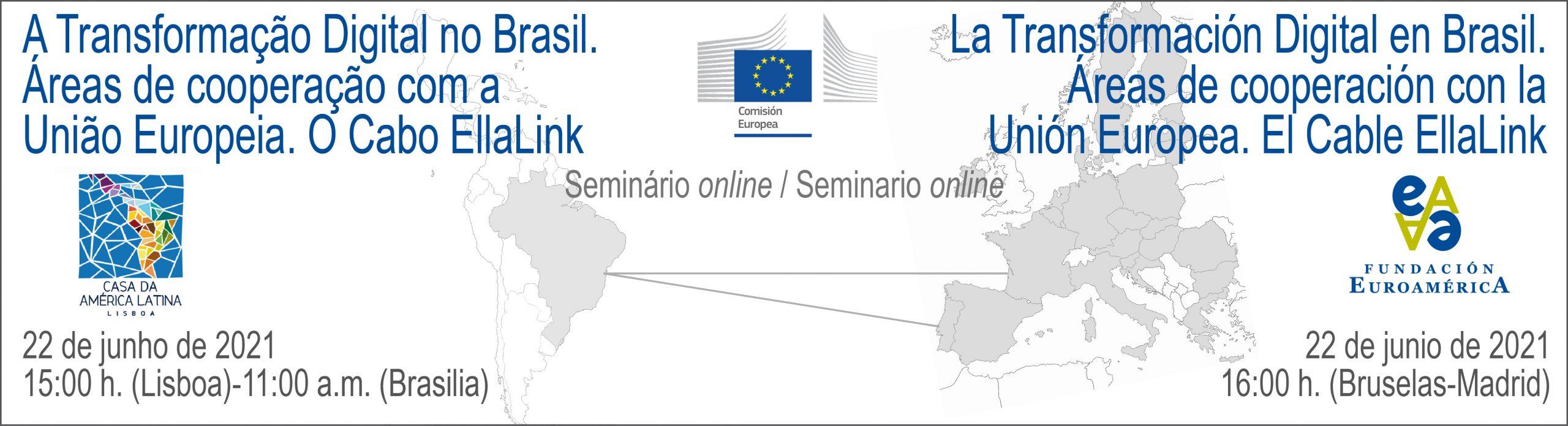 Seminário online / Seminario online