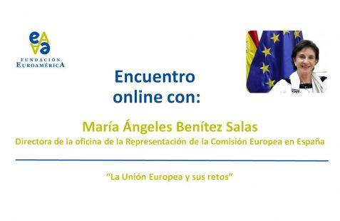 María Ángeles Benítez Salas, invitación