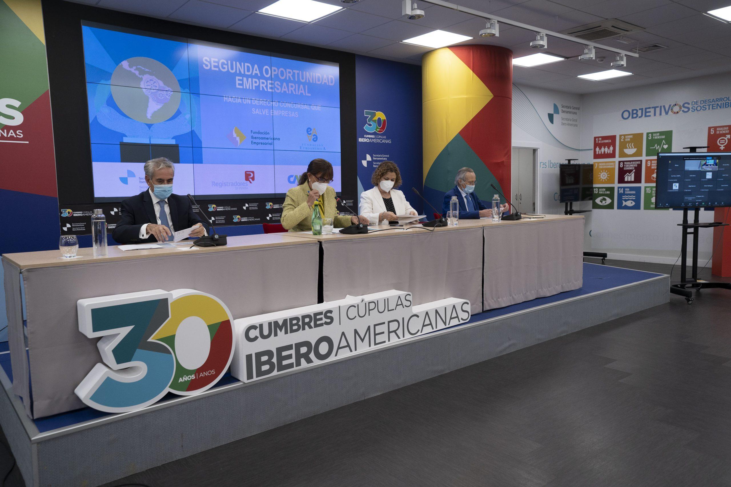 """Presentación del Informe """"Segunda Oportunidad Empresarial"""". Ponentes"""
