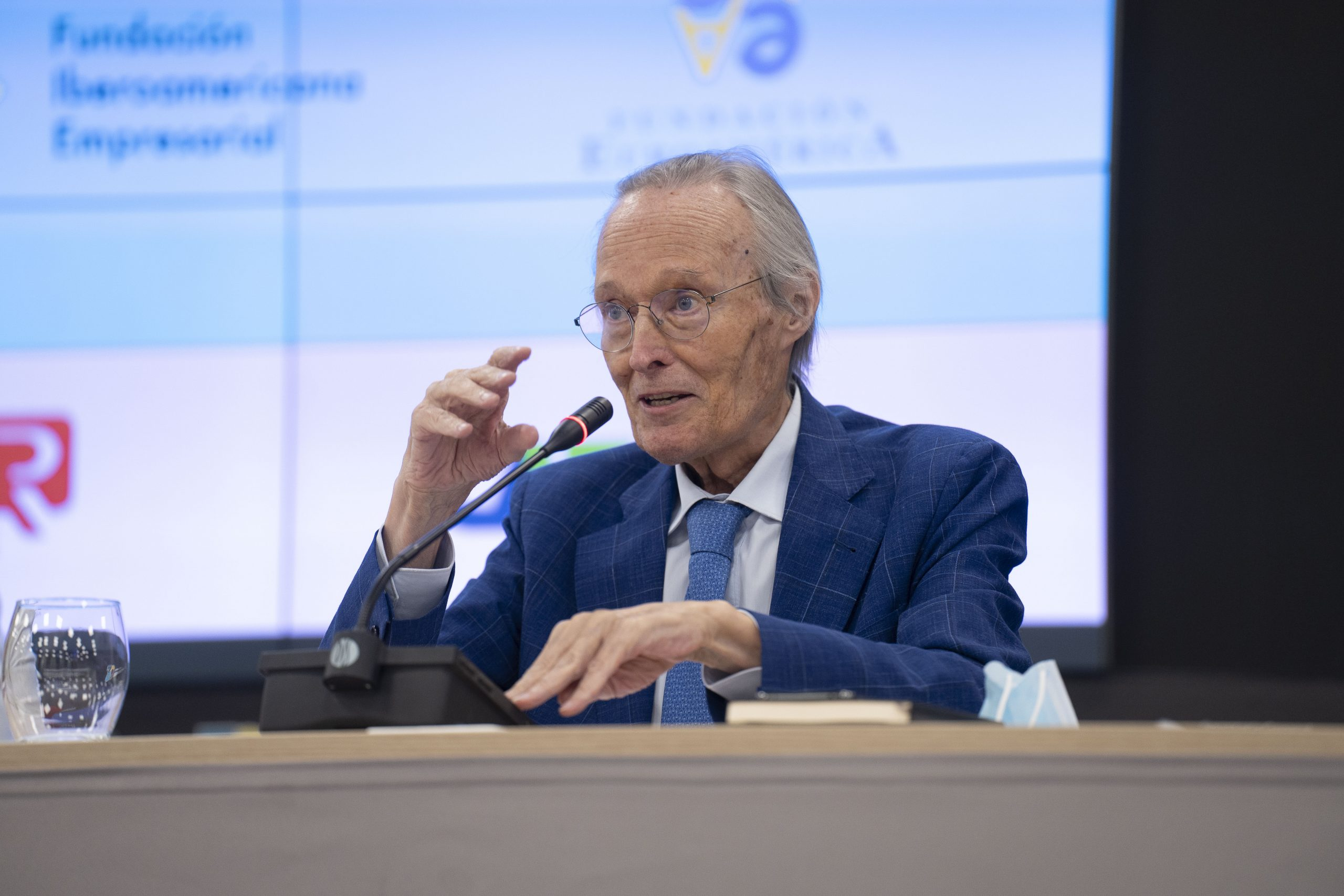 Josep Piqué, durante su intervención
