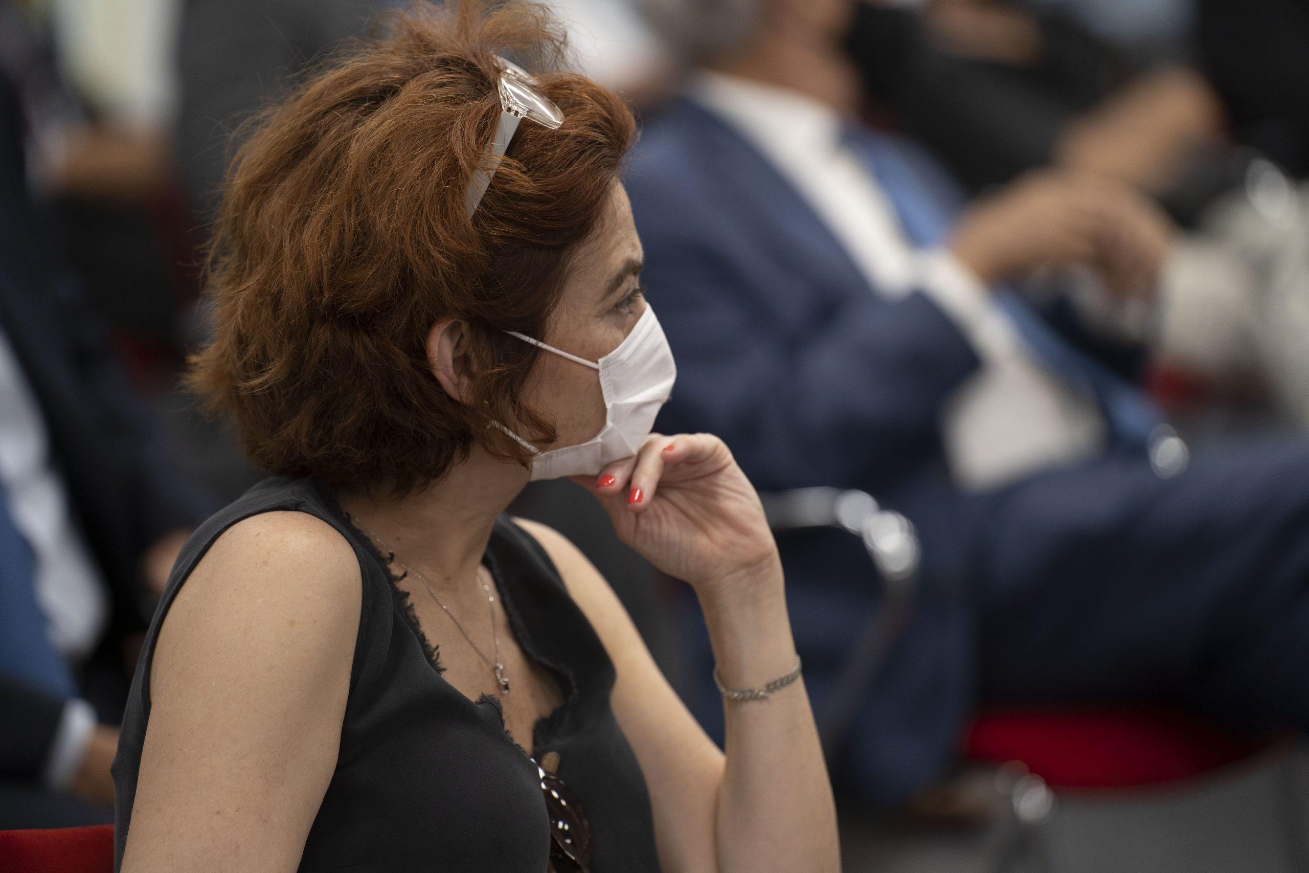 María Peña, Consejera Delegada ICEX, Patrono de la Fundación Euroamérica