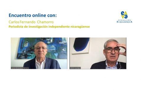 Carlos Fernando Chamorro y Ramón Jáuregui