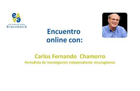 Encuentro online Carlos Fernando Chamorro