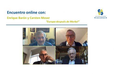 Enrique Barón, Carsten Moser, Ramón Jáuregui y Ángel Durández