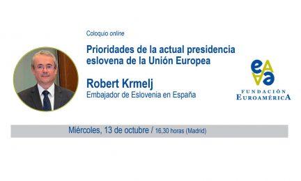 Invitación al Embajador de Eslovenia en España