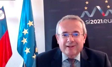 Robert Krmelj, Embajador de Eslovenia en España