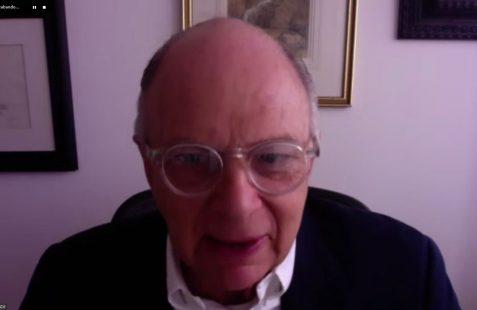 Enrique Krauze, historiador, ensayista y editor mexicano