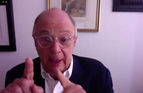 Enrique Krauze, durante su intervención