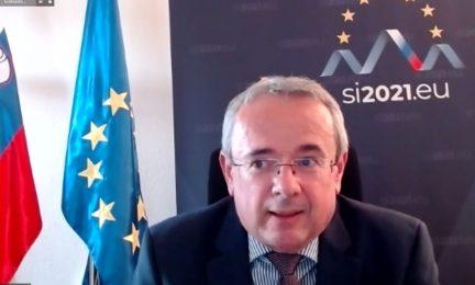 Embajador de Eslovenia en España, Robert Krmelj